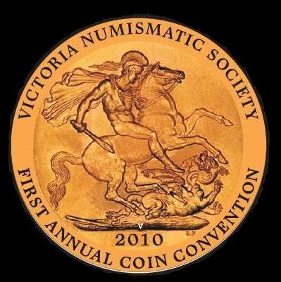 VICTORIA NUMISMATIC SOCIETY FIRST ANNUAL COIN CONVENTION MEDALLION